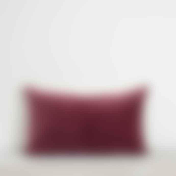 Also Home Misi Pomegranate Velvet Cushion