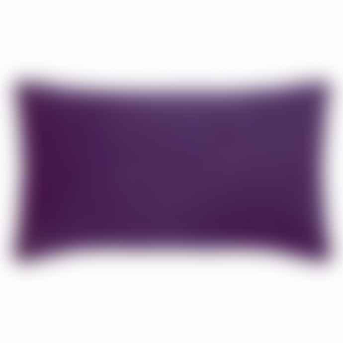 PAD 35 x 60 Fuchsia Polyester Elegance Cushion Cover