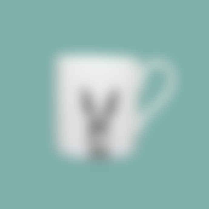 Little Weaver Arts Sassy Hare Fine Bone China Espresso Cup