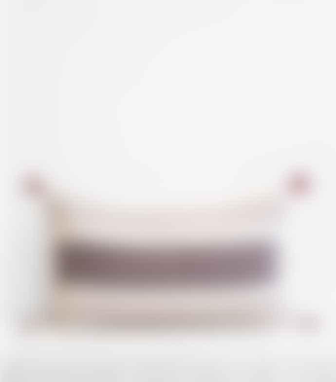 Jamini Charcoal 16x26  Anouk Pillowcase