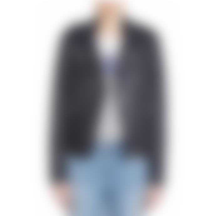 Set Fashion Tyler Leather Jacket in Night Sky
