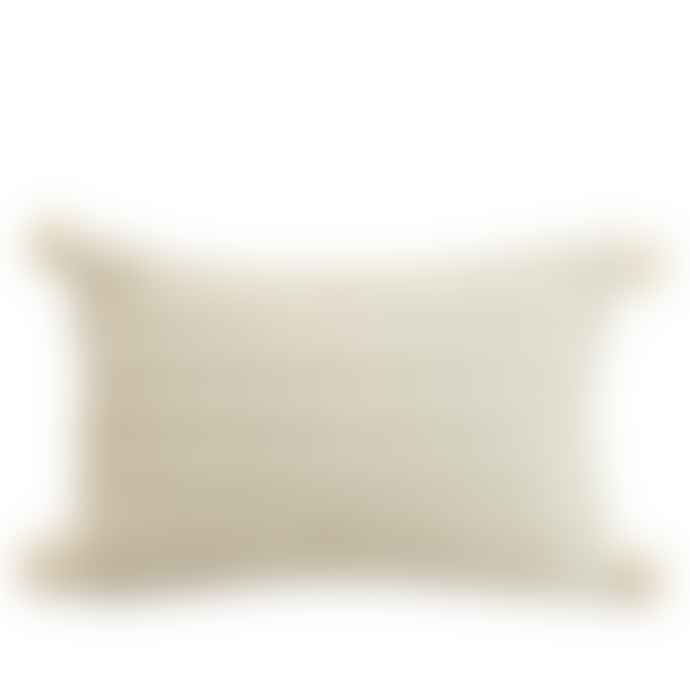 Also Home Klim Woven Cushion Ivory
