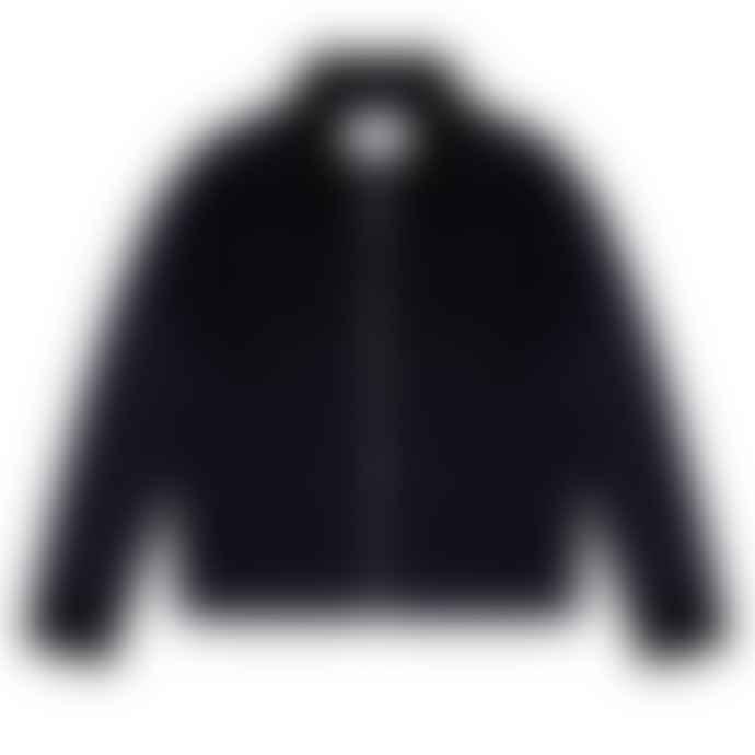 Bellfield Zip Through Cord Jacket Navy