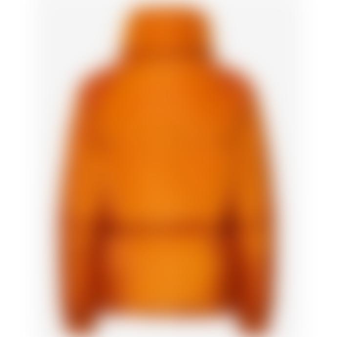 Selected Femme Mona Quilted Jacket -  Orange / Hawaiian Sunset