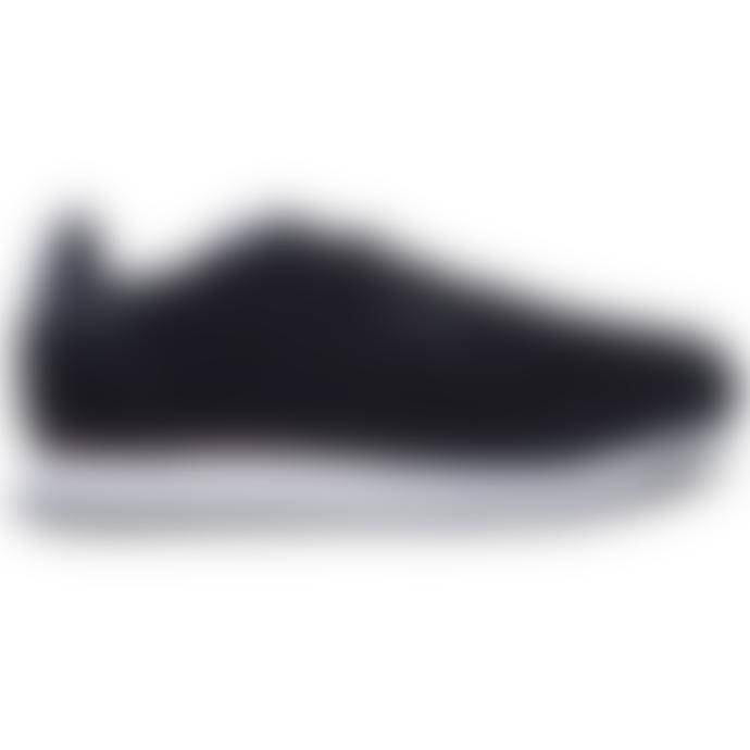 Woden Black Leather Ydun Pearl Sneaker