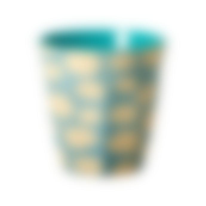 rice Medium Melamine Cloud Print Cup  - Set of 2