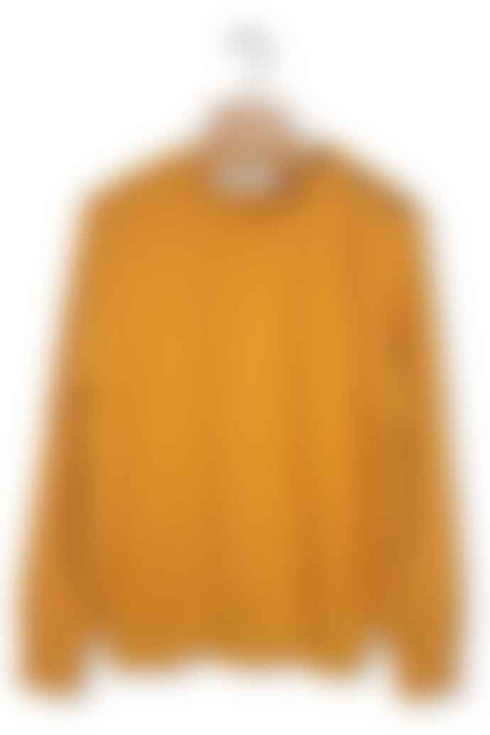 Outland Sweater Mariner Yellow Virgin Wool