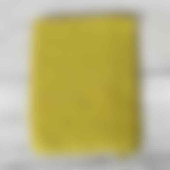 Aura Que Handwoven Fairtrade Shawl Scarf Mustard