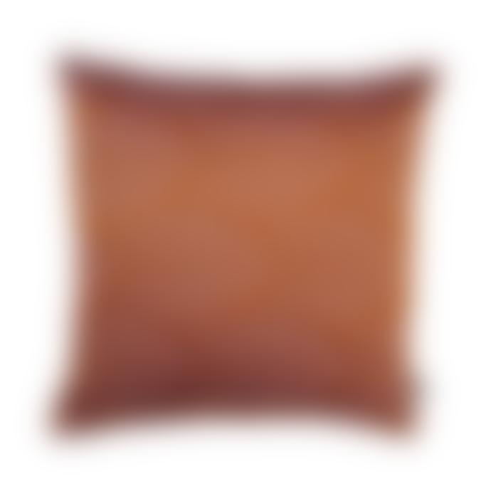 raaf 50 x 50cm Orange Art Deco Cushion