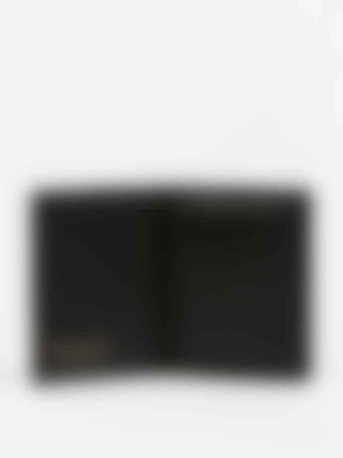 Comme Des Garcons  CLASSIC LEATHER LINE A WALLET (SA0641 Black)