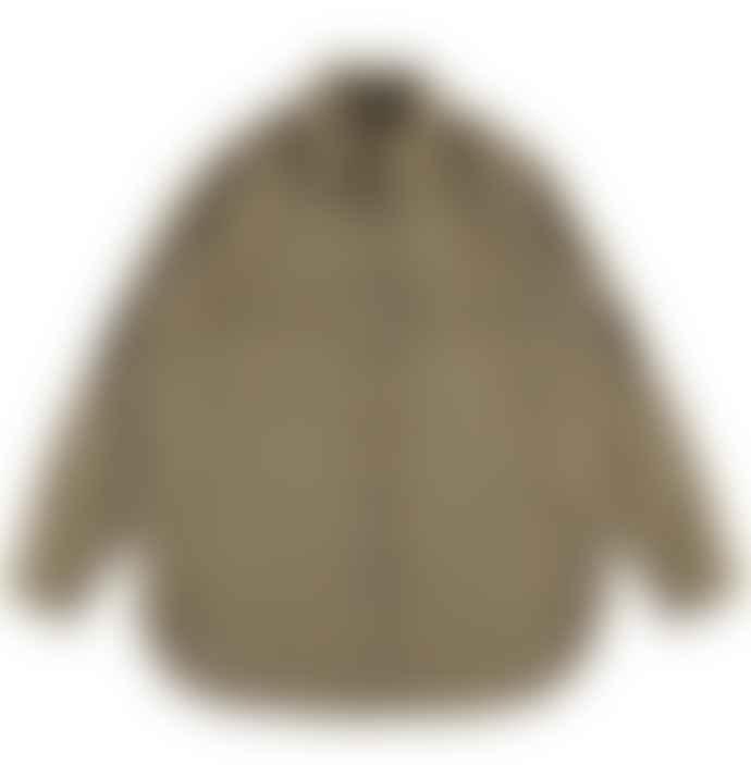 Eat Dust Deck Shirt Elba Wool Khaki