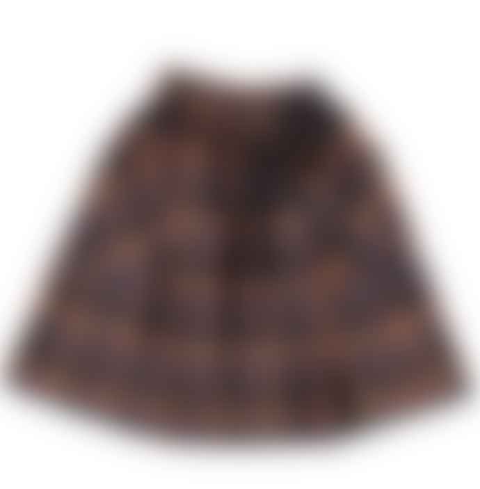 Eat Dust Prairy Skirt Wool Tartan Skirt