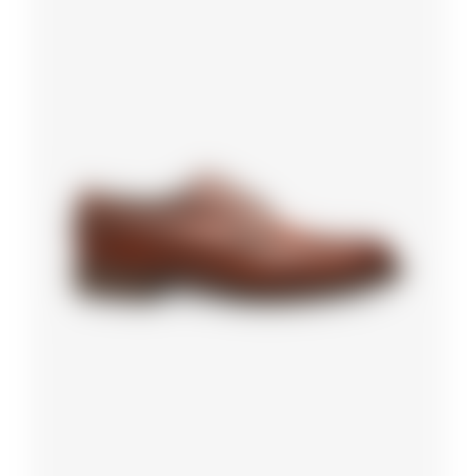 Loake Birkdale Brogues Shoes in Conker Brown