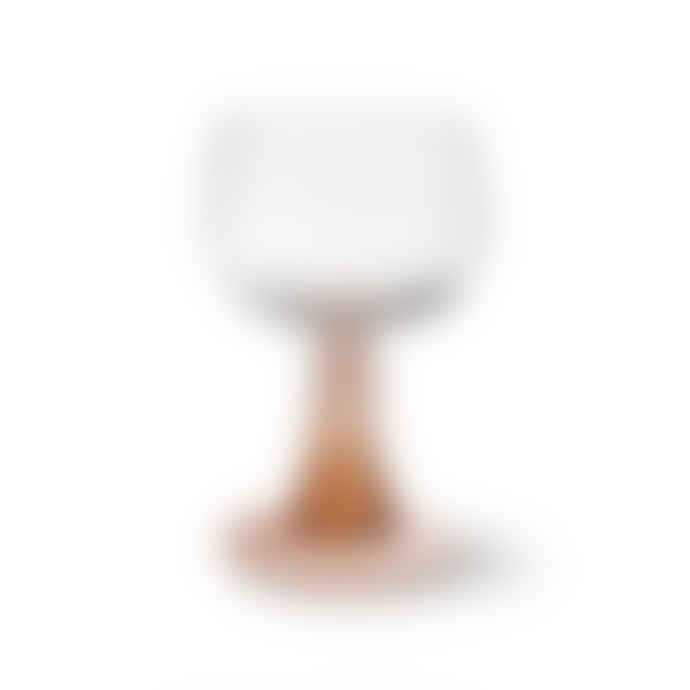 HK Living 186ml Nude Swirl Wine Glass