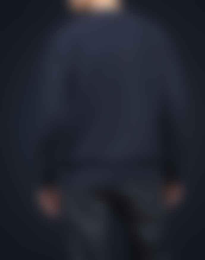Lee 101 Bright Navy Cotton Sweatshirt