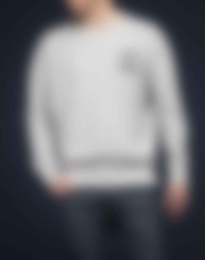 Lee 101 Sharp Gray Mele Cotton Sweatshirt