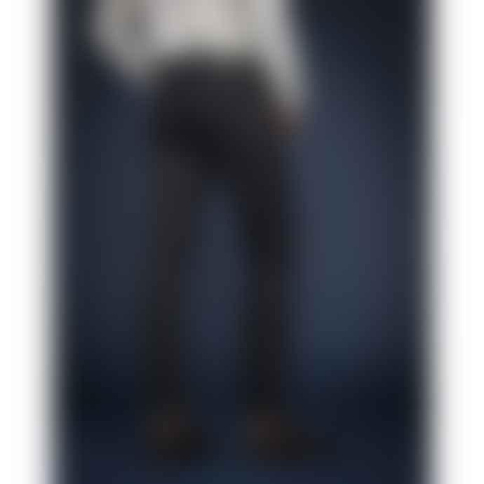 Lee 101 Black Cotton Rider Dry Jeans
