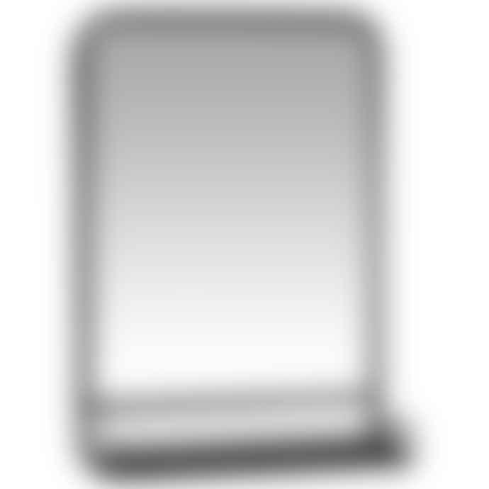 Ib Laursen Black Framed Wall Mirror With Shelf