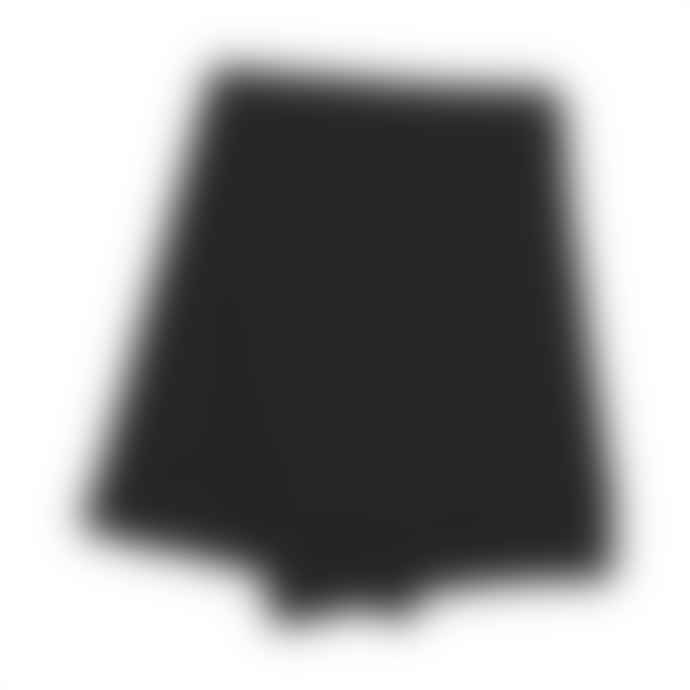 Colorful Standard Merino Wool Scarf Deep Black