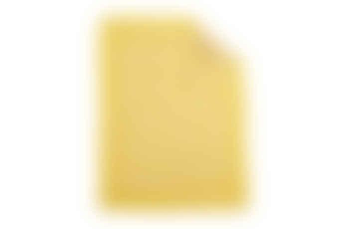 HAY Yellow Star Plaid Blanket