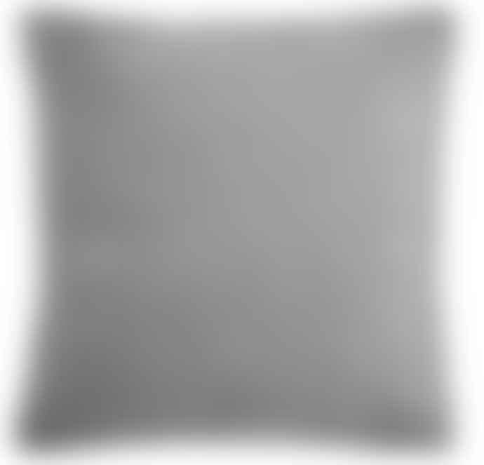 Ib Laursen Smoky Grey Velvet Cushion Including Feather Pad