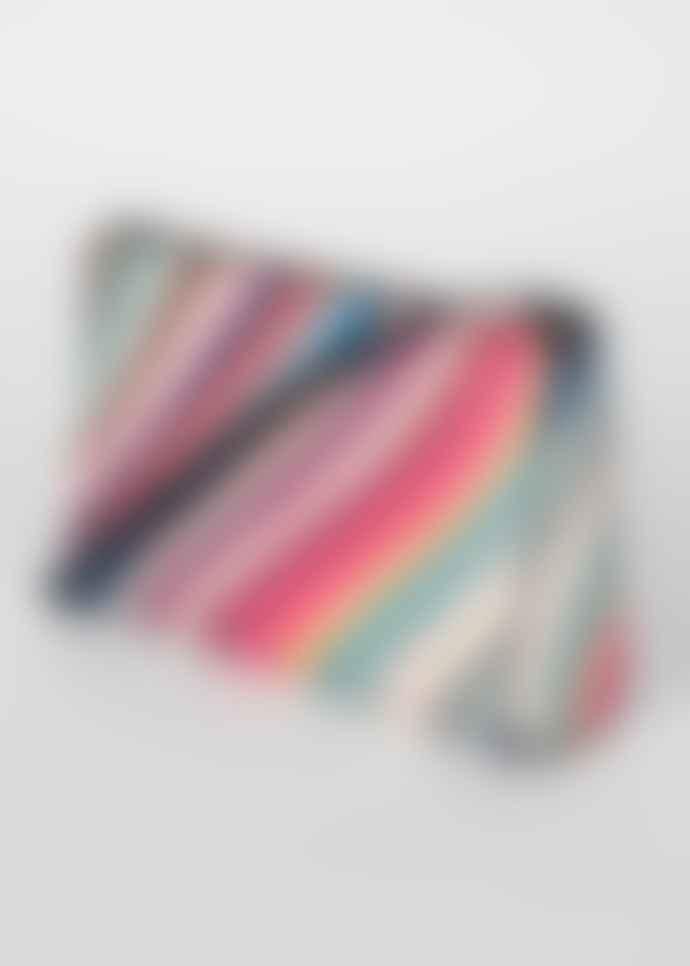 Paul Smith Swirl  stripe leather cross body bag