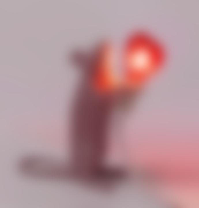 Seletti Valentine Mouse Lamp