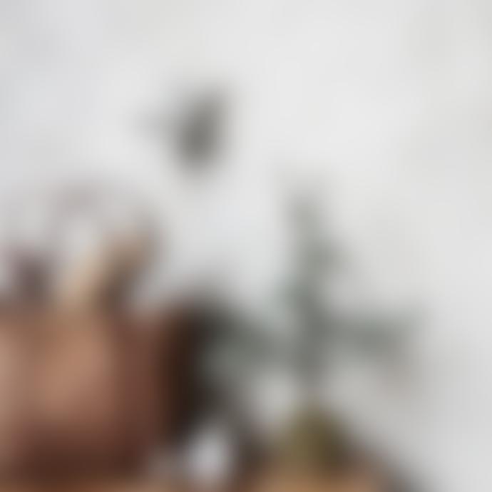 House Doctor Set of 2 25cm Gray Paper Christmas Stars