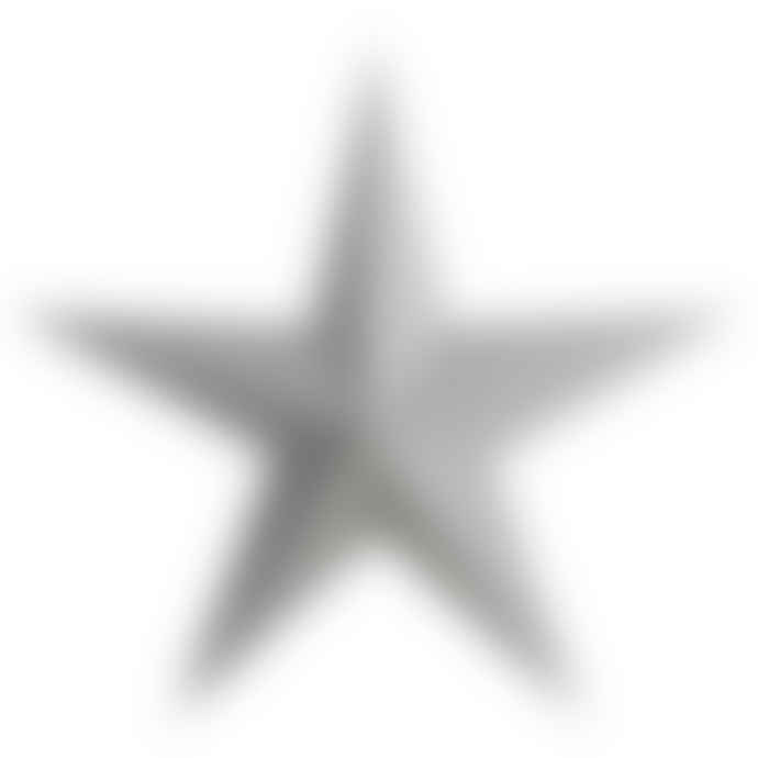 House Doctor 45cm Gray Paper Christmas Star