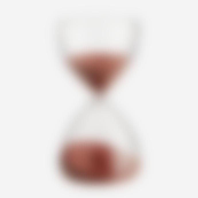 Madam Stoltz 15 Minutes Clear Paprika Hourglass