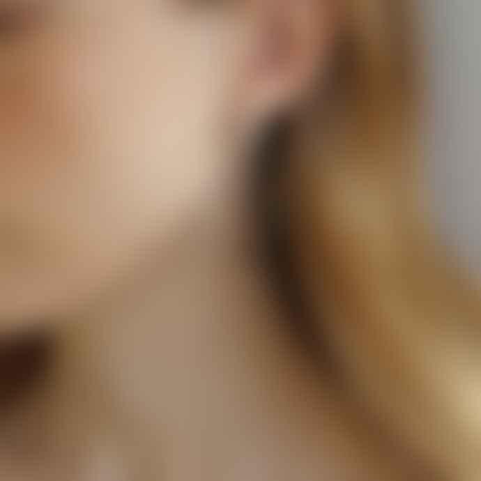Tutti & Co Tranquil Silver Hoop Earrings