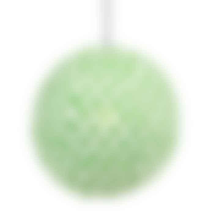 Afroart Small Cotton Green Dot Lampshade