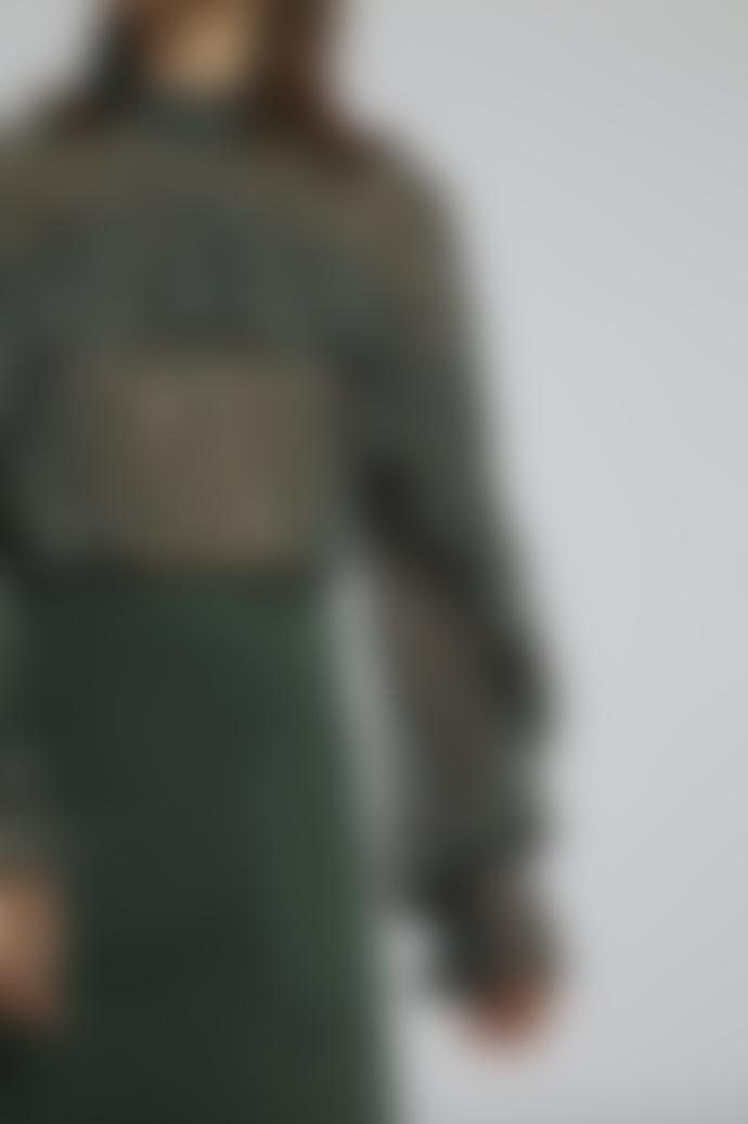 Louche Zoelie Deco Green Blouse
