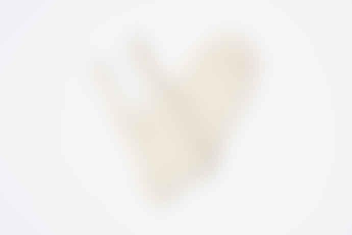 Freight HHG Undyed Alpaca every day socks - Cream