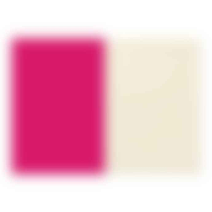 Go Stationery A5  COLOURBLOCK NOTEBOOK CERISE