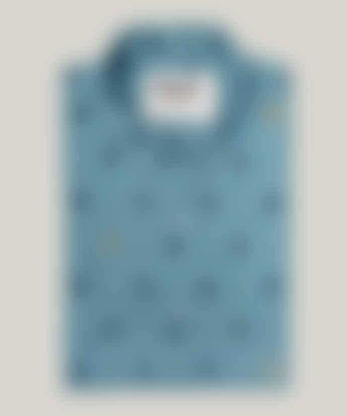 Brava Fabrics Toy Robots Printed Shirt Oeko-tek certified