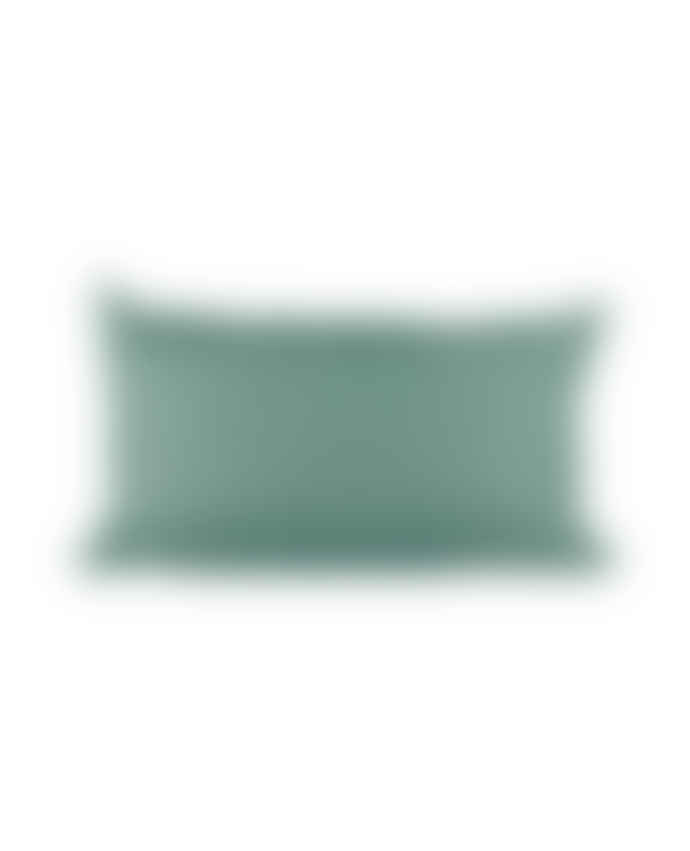 SIPP Outdoor 50 x 30cm Green Polyester Outdoor Rectangle Cushion