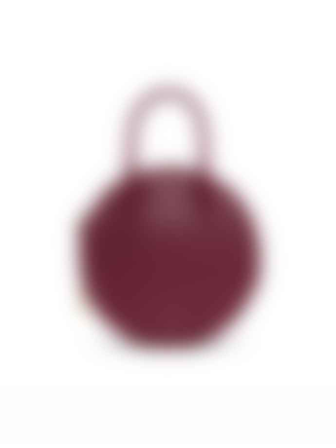Matt & Nat Katesm Vegan Round Crossbody Bag Garnet