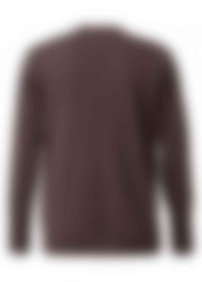 Yaya YaYa Metallic V Neck Sweater