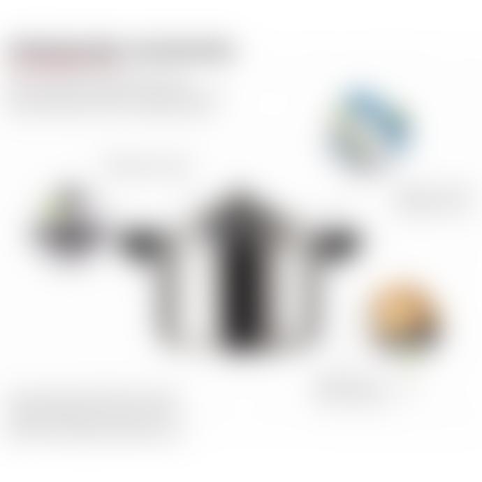Kuhn Rikon 5L Long Handle Duromatic Inox Pressure Cooker