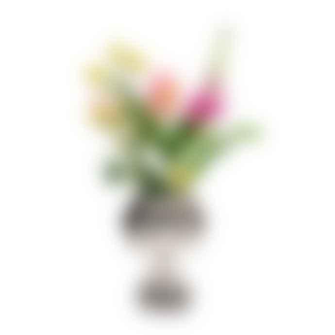 Kitsch Kitchen Marisol Ceramic Vase Black And White