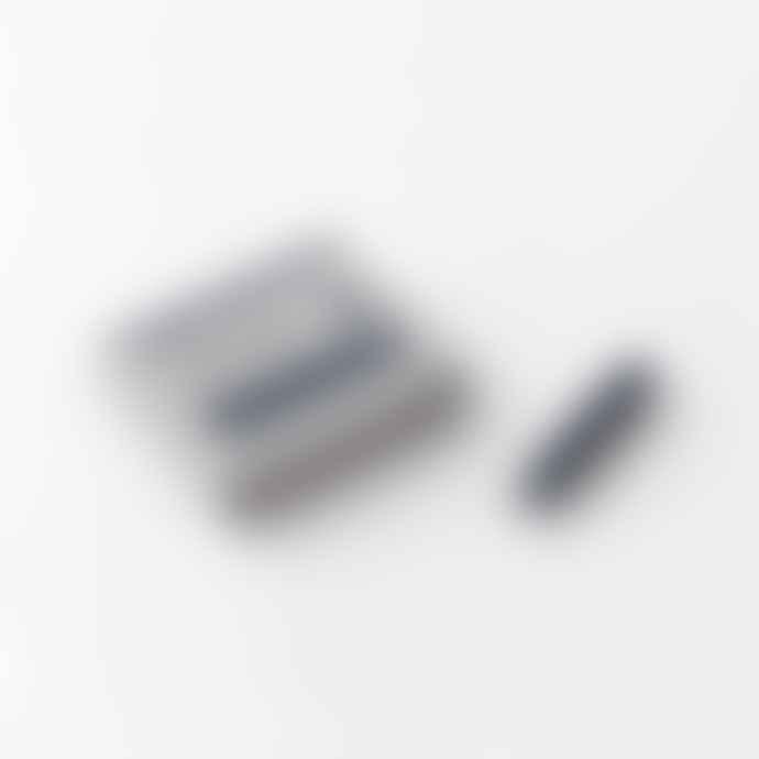 Traveler's Company Fountain Pen Cartridge Blue Black Pack Of 6