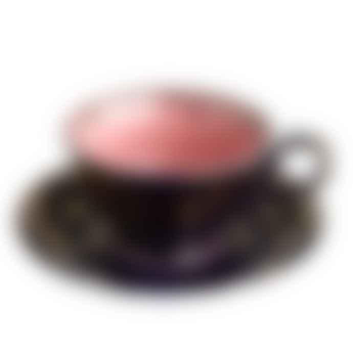 Pols Potten Grandpa Tea set of Four Cups and Saucers