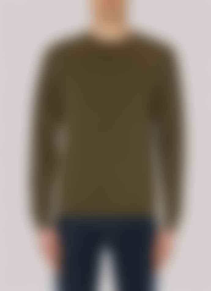 Sunspel Sweatshirt - Military Green