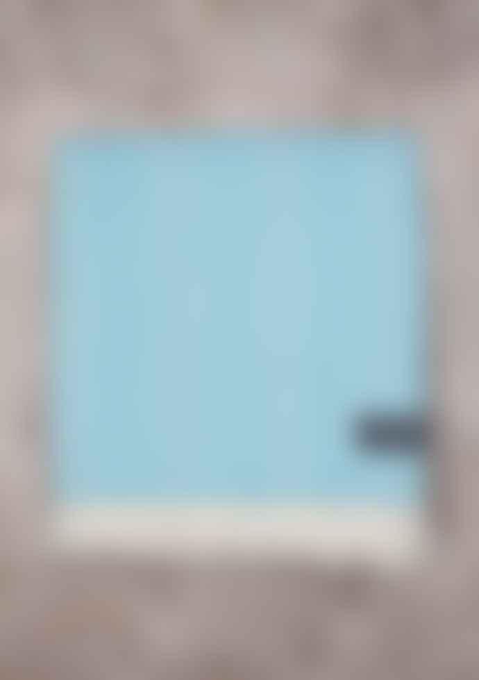 The Tartan Blanket Co. 150 x 175cm Duck Egg Blue New Wool Blanket