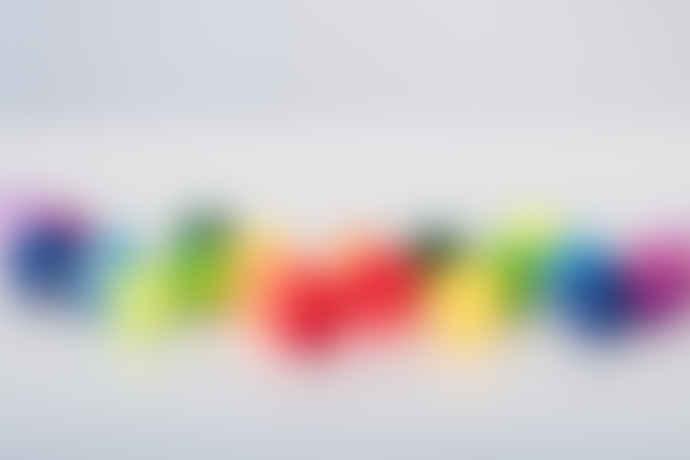 Irislights 20 Balls Rainbow Light Chain