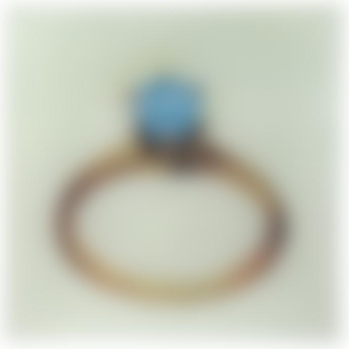 JOHN DERIAN Diamond Un Vide Poche Square Decoupage Glass Tray