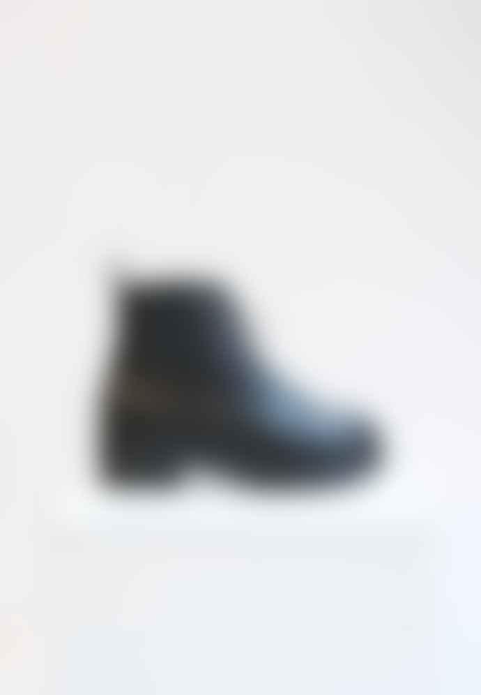 Collection & Co Efi Black Biker Boot