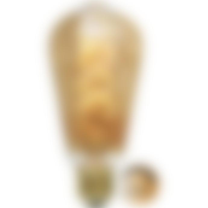 Star Trading Amber Decoration Spiral LED Lamp