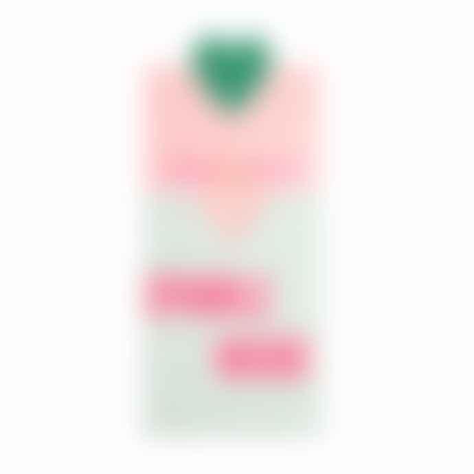 &Anne Neon Pink Sparkle Star Bracelet
